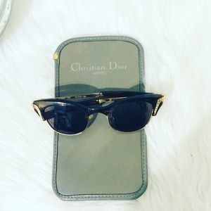 Christian Dior Soft Suede Sunglasses Case